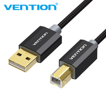 Vention USB 2.0 Printer Cable Type A Male to B Male Scanner Sync Data Charger Cord Gold Plated Cable For HP Printer USB2.0 Cable