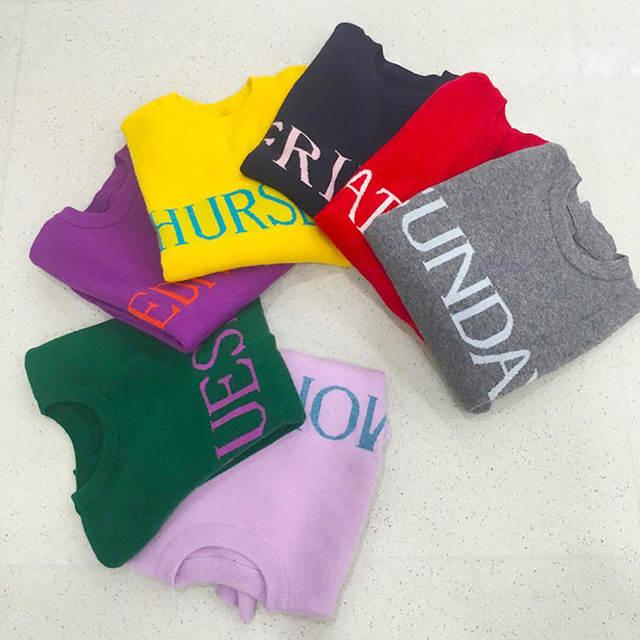 Online Shop 2017 Autumn Winter Women Sweater Newest Fashion Day Of