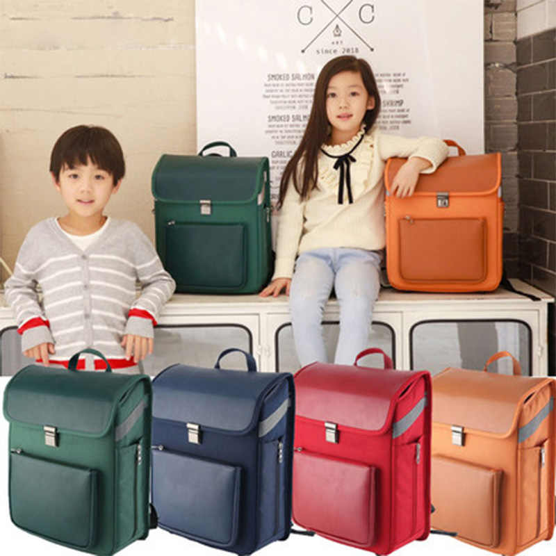 Yeni Moda Erkek Kız okul çantası Lüks Marka Çocuk Sırt Çantası Japon Tarzı Kız Öğrenci Kitap Çantası Çocuklar Büyük Birincil Okul Çantası