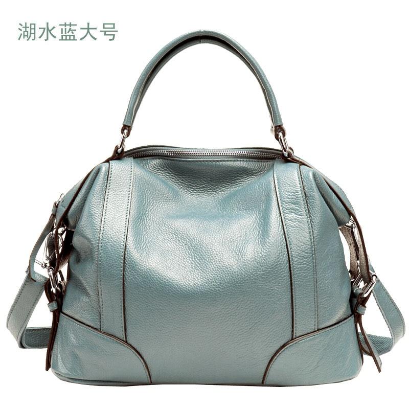 Genuine Leather Bag Female Bags Handbags Women Famous Brands Shoulder Bags Metis Monogram Women Bag Female Bolsa Feminina