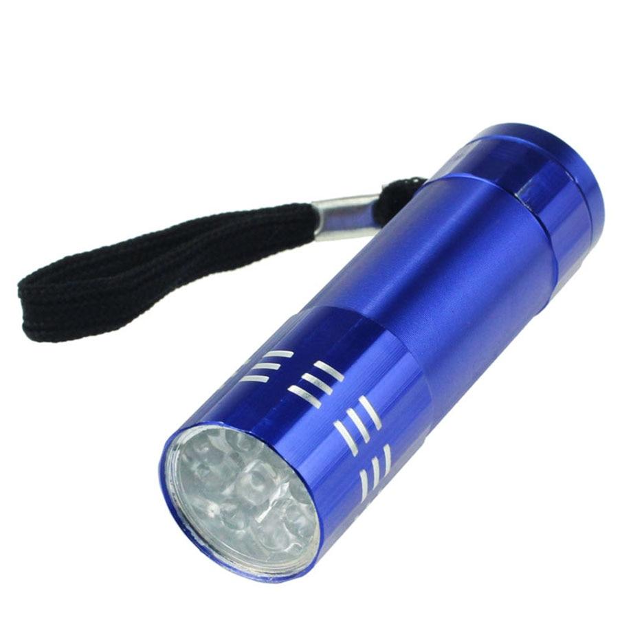 FGHGF 2018 Super mini size Bright Blinding Effect Newest Unique DesignNine Small Light LED Waterproof Flashlight Light Lamp