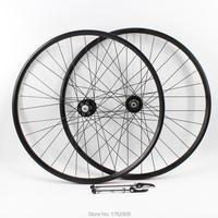 Chegada nova 20/26/27.5/29er polegadas rolamento liga de alumínio Mountain bike freio a disco hub bicicleta clincher aro rodado MTB Free navio