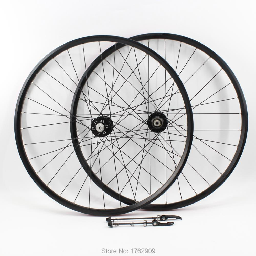 New arrival 20/26/27.5/29er inch Mountain bike aluminum alloy bearing disc brake hub bicycle clincher rim wheelset MTB Free ship free shipping lutu xt wheelset mtb mountain bike 26 27 5 29er 32h disc brake 11 speed no carbon bicycle wheels super good