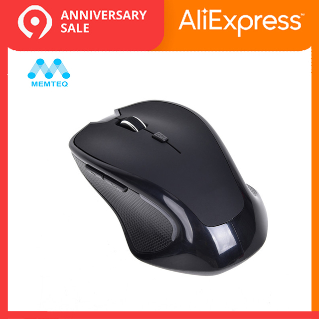 aa18755cfbb MEMTEQ Wireless Mouse Bluetooth 3.0 Ergonomic Wireless Optical Gaming Mice  1600DPI Computer Mouse for Laptop Tablet
