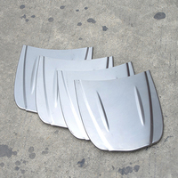 30 26cm Metal Car Speed Shape Mini Car Bonnet Mini Hood Custom Paint Sample Model For
