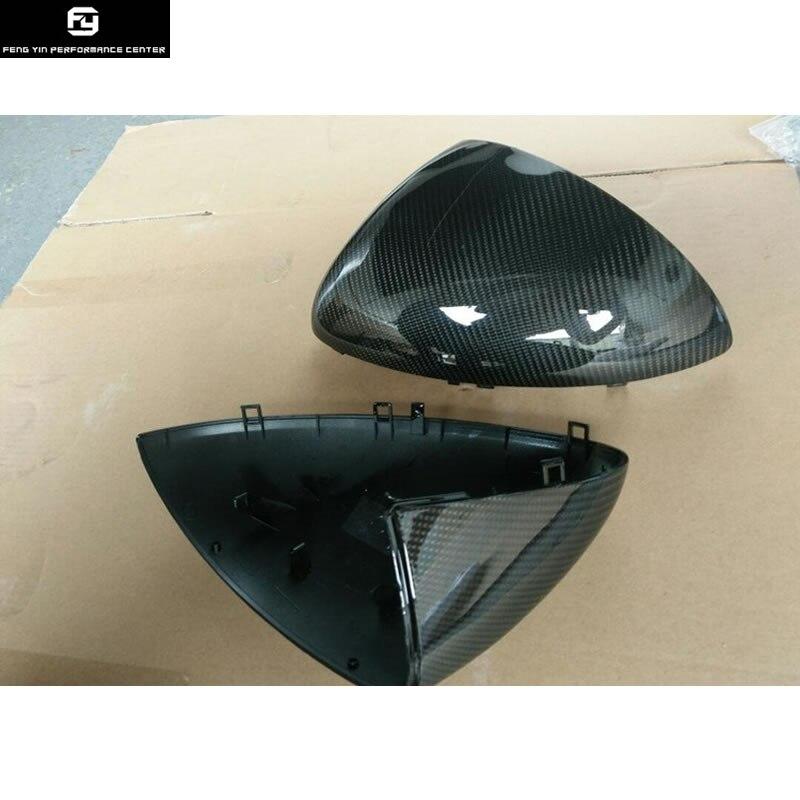 Комплект кузова автомобиля из углеродного волокна зеркало для замены крышки зеркало заднего вида крышка для Porsche Cayenne 958 13 15