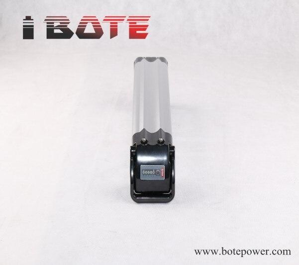 Argent poissons type de batterie 36 V 10Ah vélo électrique batterie 36 volt lithium ion battery pack avec chargeur pour e - bike