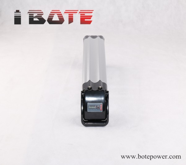 silver fish type battery 36V 10Ah electric bike battery 36