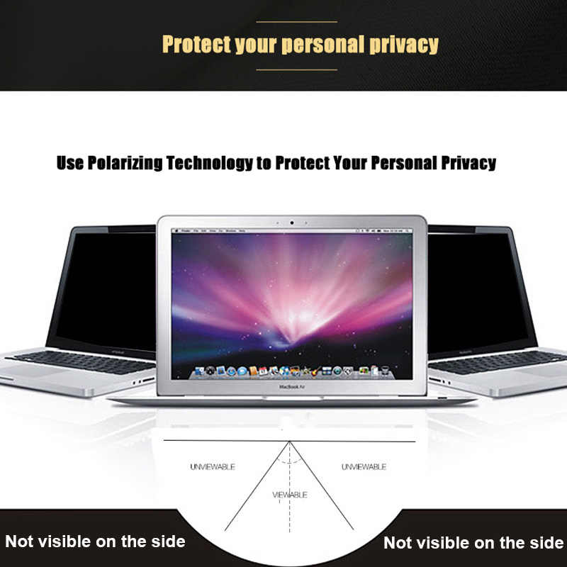 חדש אפל מחשב נייד מגנטי מסנן פרטיות מסך מגן סרט עבור Macbook Air 13 אינץ מסך מגן עבור Macbook A1369 A1466