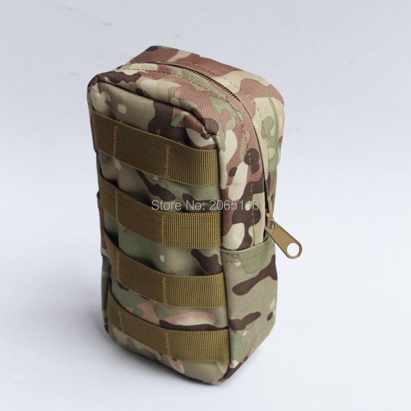 Prix pour Tactique Molle D'urgence Survie poches Sport Sac Médical Extérieure double zipper Camping Outil de poche Mini Voyage kit