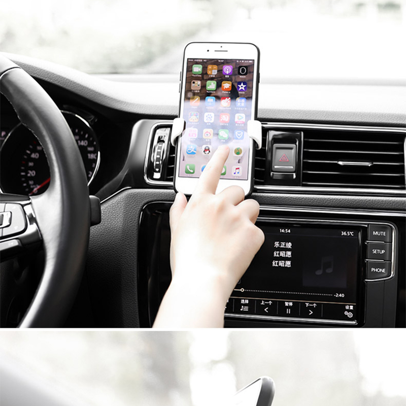 HTB1Xue8Kh9YBuNjy0Ffq6xIsVXaM - Car Phone Holder For Phone In Car Air Vent Mount Stand No Magnetic Mobile Phone Holder Universal Gravity Smartphone Cell Support