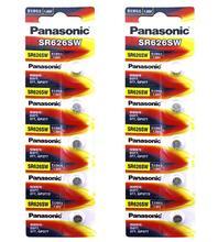 40pcs/lot Panasonic SR626SW Silver Oxide Battery G4 377A 377 LR626 SR626SW SR66 LR66 Button Cell Watch Coin Batteries