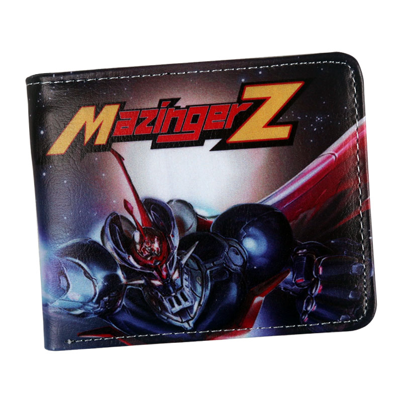wholesale new arrival 2018 anime wallet Mazinger Z wallet for credit cards