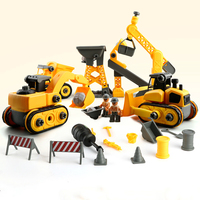 Electric children simulation crane tower crane toy engineering truck toy Model control car Christmas birthday gift toys
