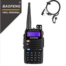 BaoFeng UV 5RC نسخة محدثة اسلكية تخاطب UHF VHF ثنائي النطاق اتجاهين راديو 5r يده جهاز إرسال واستقبال يدوي هام CB راديو موصل