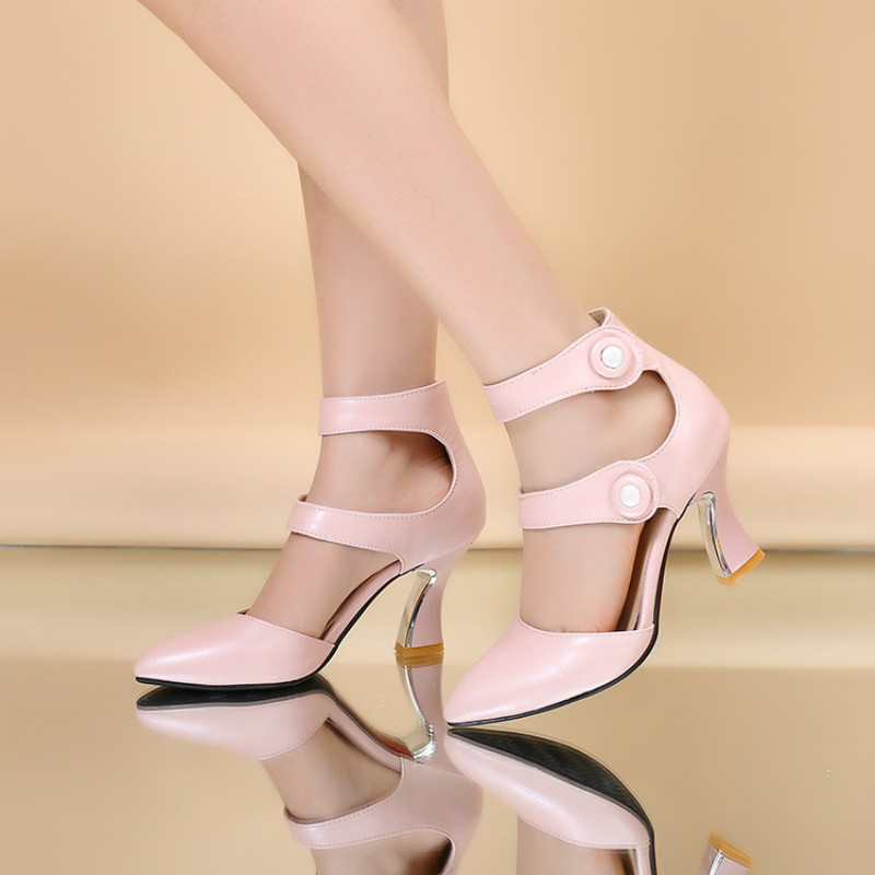 Fashion Sweet Trend Women High Heels Tassel Pump Ladies Shoes Casual Pumps Big Size sandal 39 43 women shoes Yasilaiya in High Heels from Shoes