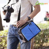 The latest fashion wear-resistant, waterproof, earthquake-resistant Oxford cloth camera bag for Canon Nikon Sony SLR camera