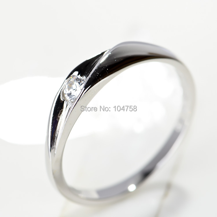 free pp not fake new 2016 fashion cz wedding rings for women 100 hi - Fake Wedding Ring