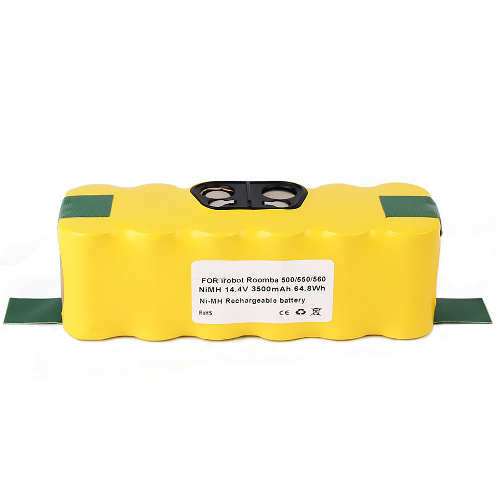 GTF 14.4V 3500mAh NI-MH Replaceable Battery For iRobot Roomba 500 510 530 570 580 550 620 650 780 790 Replacement Battery Cell