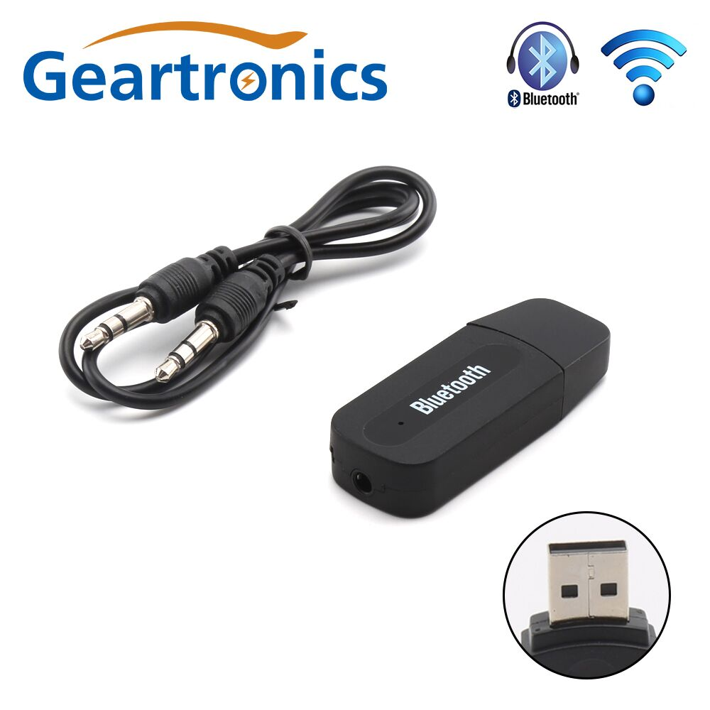 bluetooth aux adapter bluetooth car wireless portable mini. Black Bedroom Furniture Sets. Home Design Ideas