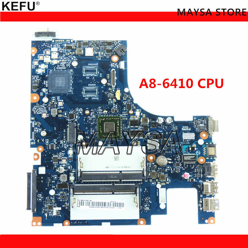 NM-A281 REV:1 0 DDR3 System board Fit For Lenovo G50-45 Laptop motherboard,  A8-6410 Processor onboard