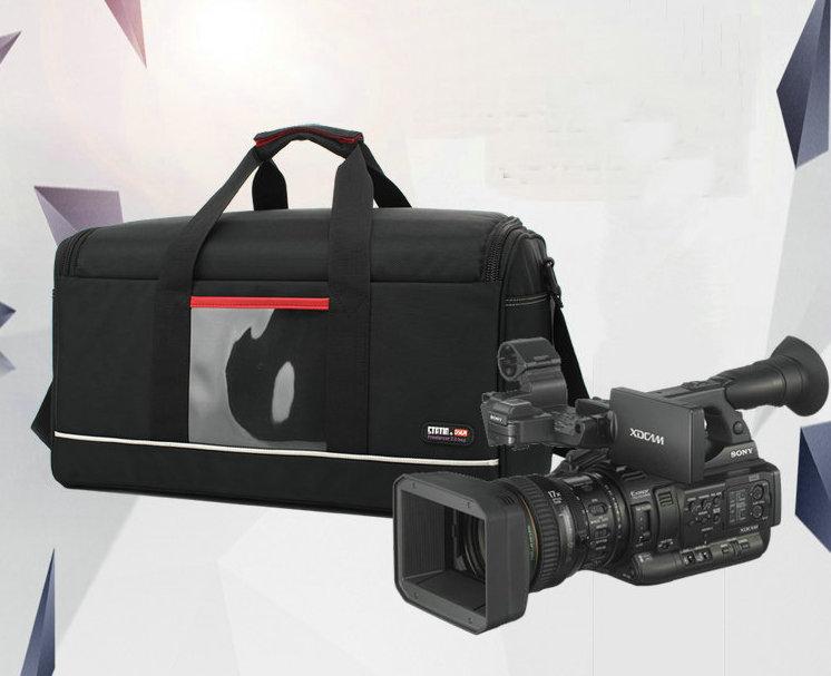 PROFESSIONAL Video Camera Bag Camera Case Laptop Bag For Panasonic Canon Sony JVC RED ARRI etc.. Travel Bag lowepro protactic 450 aw backpack rain professional slr for two cameras bag shoulder camera bag dslr 15 inch laptop