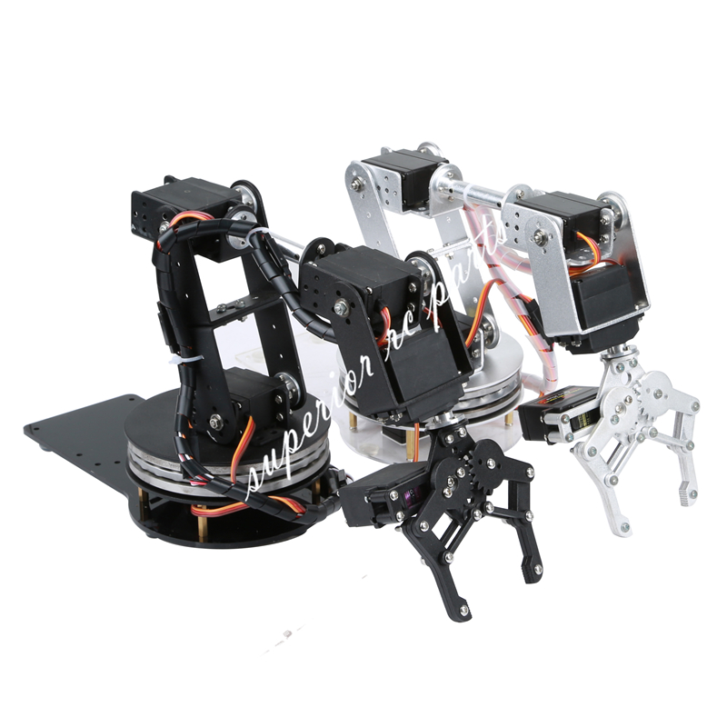Arduino robot dof aluminium clamp claw mount kit