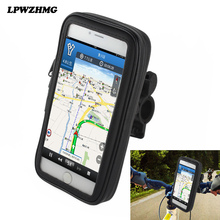 2017 New Waterproof Bicycle bag Bike Handlebar Mount Holder Case Bicycle Cover For 5.5 inch Mobile Phone Sales Promotion