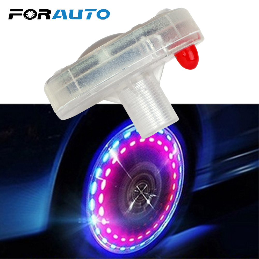 ONE DICE LED VALVE Stem CAP for Bike Bicycle Car Motorcycle Wheel tire Light 1