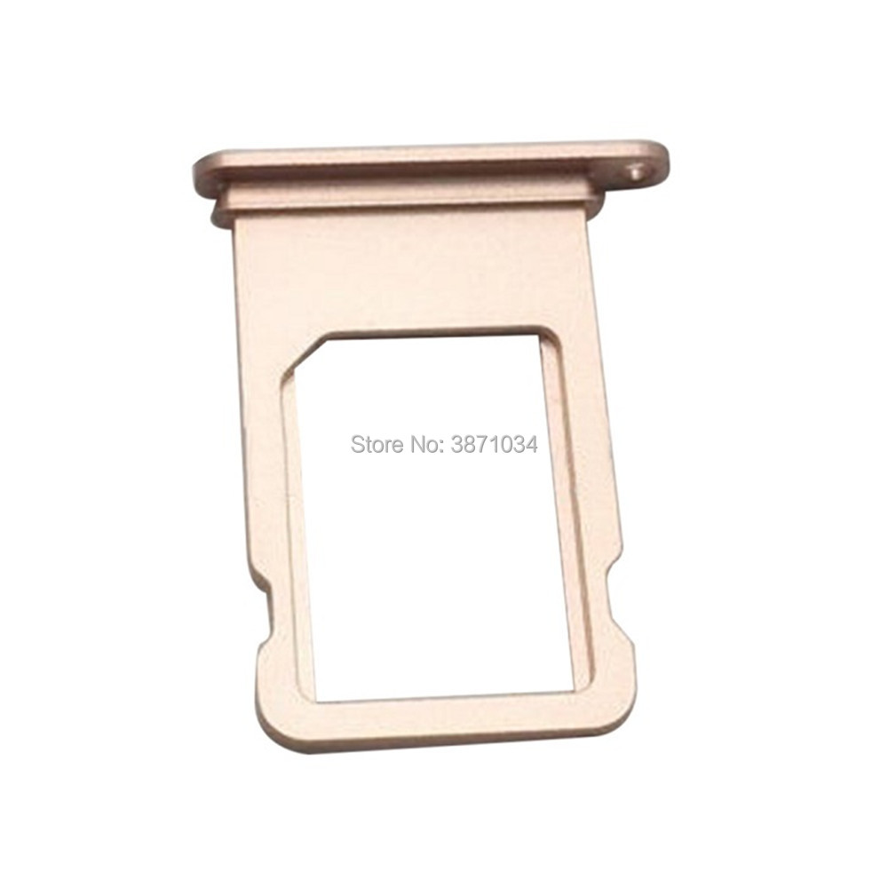 For Apple iPhone 7 4.7 7plus 5.5 Original New Sim Cards Adapters Micro Sim Card Tray Slot Holder Replacement Acessories