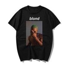 Moda rapper frank louro impressão t camisa engraçado harajuku t camisas casuais algodão de manga curta curto novo verão hip hop t camisa