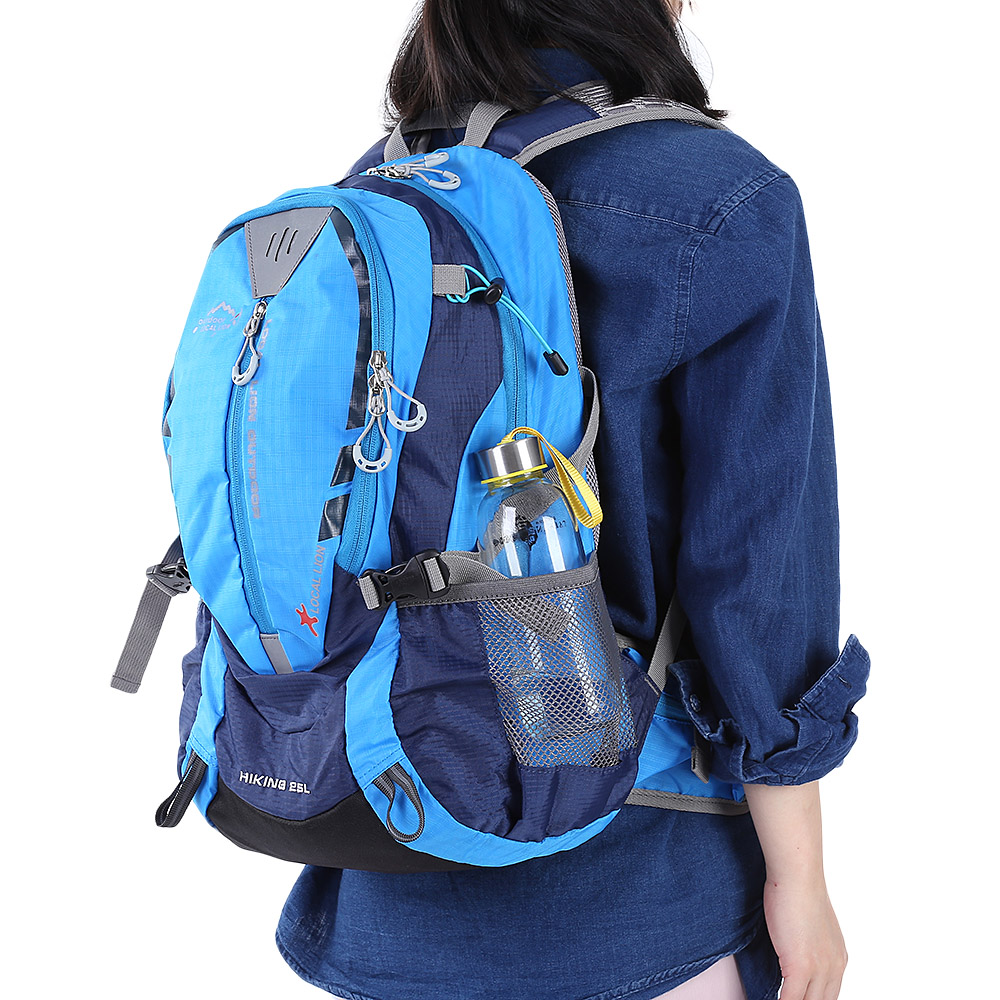 LOCAL LION 441 Outdoors <font><b>Hydration</b></font> Backpack 25L Climbing Pack For Hiking Running Riding