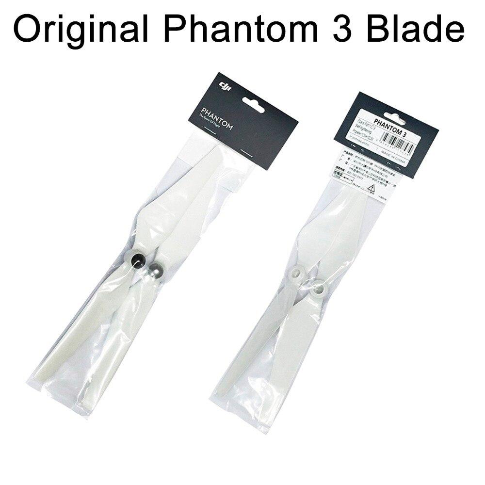 4 piezas originales DJI Phantom 3 hélice hoja 9450 CW CCW accesorios de liberación rápida accesorios Phantom 2 Xiro ala los Fans de espaã a