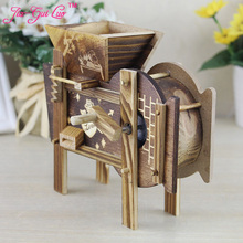 Good harvest windmills music box Ideas do old household adornment restoring ancient ways furnishing articles Novelty gift jia-gu