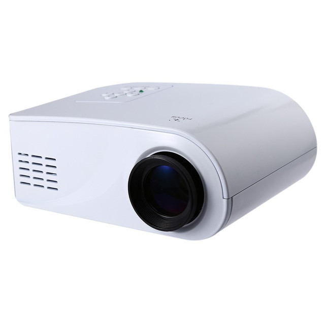 Newest Plastic Full HD 1080P Video 80 Lumen Portable X6 Mini LED HDMI/AV/VGA/SD/USB Home Theater Beamer Multimedia Projector