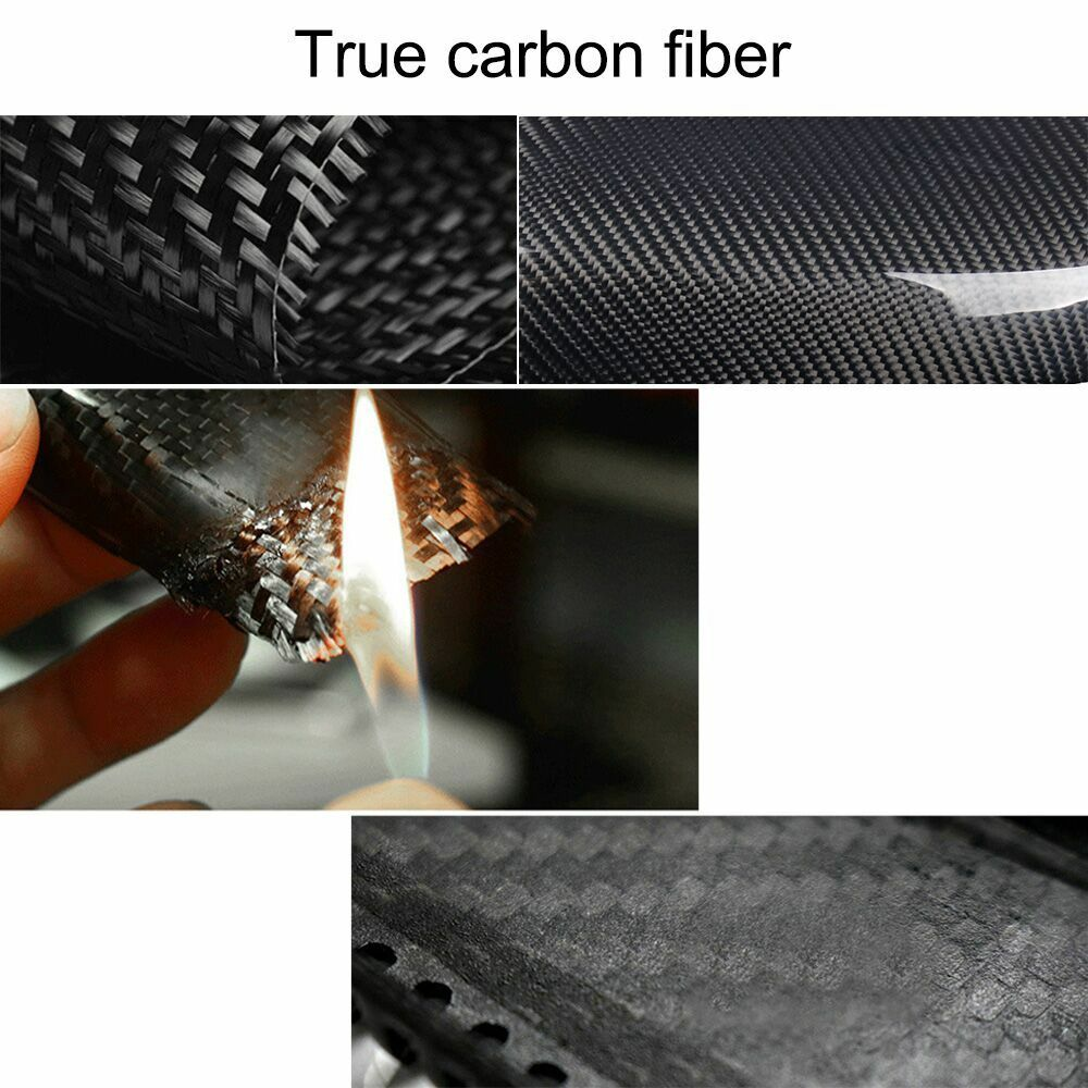 Carbon Fiber Roof Decor Antenna Shark Fin For maserati Ghibli Quattroporte 2017+