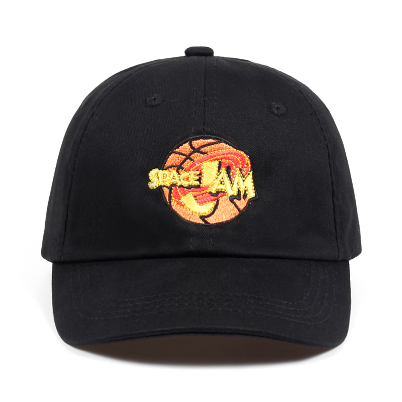 Space Jam Dad Hat Jordans Movie Fashion Curved Chapeau Baseball Cap SpaceJam Hats Unisex Casquette Brand Snapback Hip Hop Bone
