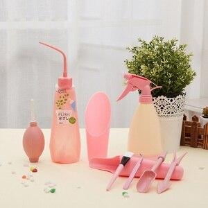 Image 1 - Multi function Mini Gardening Hand Tools Set Succulent Plants Watering Bottles Miniature Garden Plants Tools