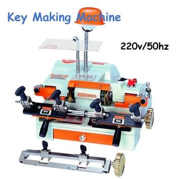 Key Cutting Machine Multi-Functional Key Duplicating Machine 220v/50hz Key Making Machine for Locksmith 100E1 1pc 220v key copy duplicate cutting machine multi function rh 2as horizontal locksmith tools with brush lengthen clamp