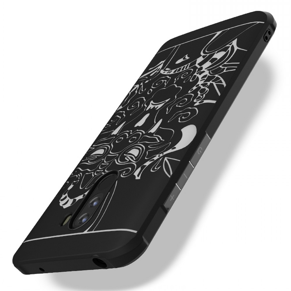 Luxury Silicone Case for Xiaomi Pocophone F1 Cases TPU Slim full Protective Phone Cover for Xiaomi Pocophone F1 Case Poco F1