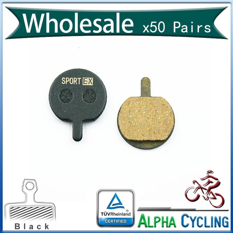 Pastillas de freno de disco de bicicleta MTB para freno de disco JAK 5, resina Original, 50 pares, BP016-in Freno de bicicleta from Deportes y entretenimiento on AliExpress - 11.11_Double 11_Singles' Day 1