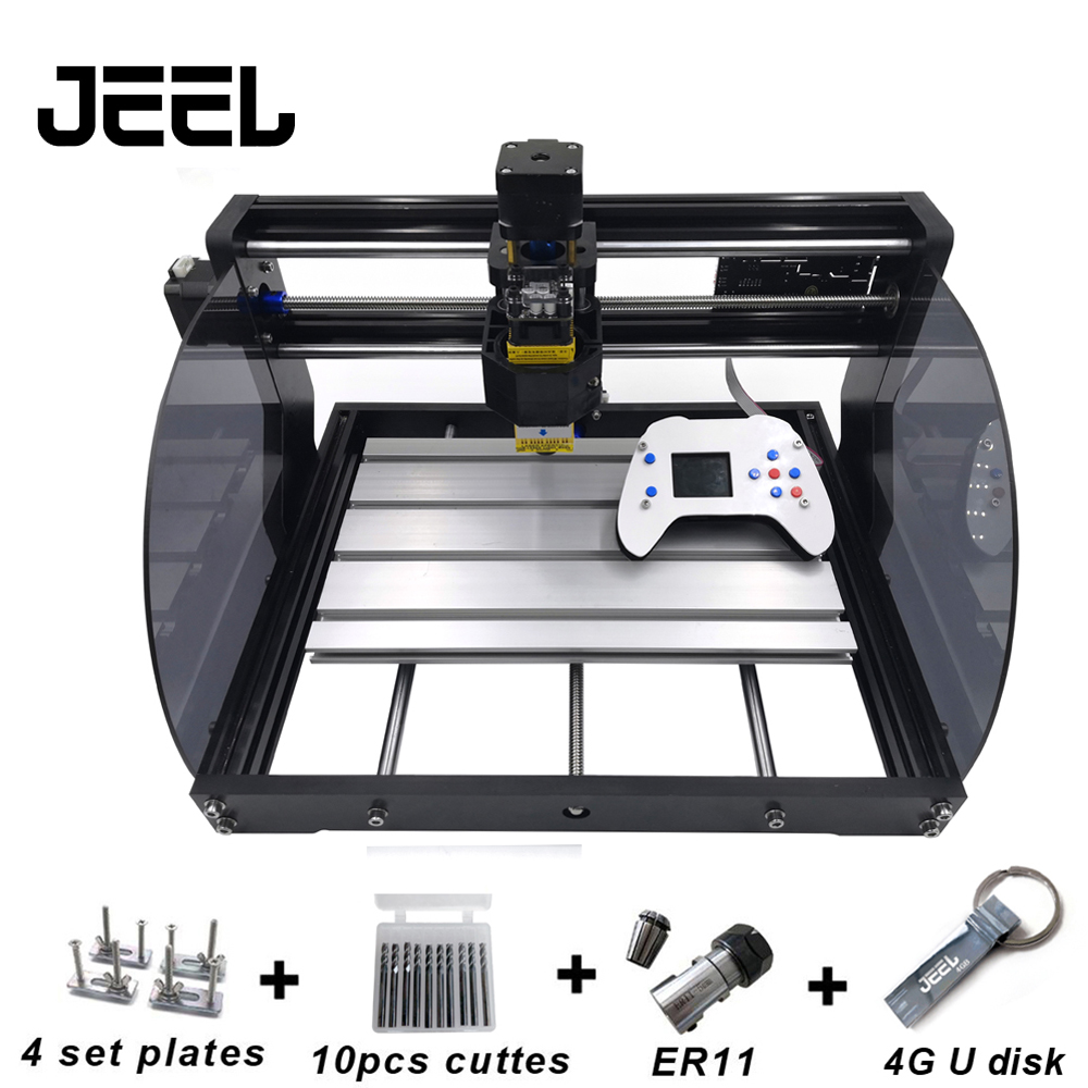 DIY CNC 3018 Pro MAX GRBL,3 Axis PCB Milling Machine,CNC Router Laser Engraving,CNC3018 Max With New Offline