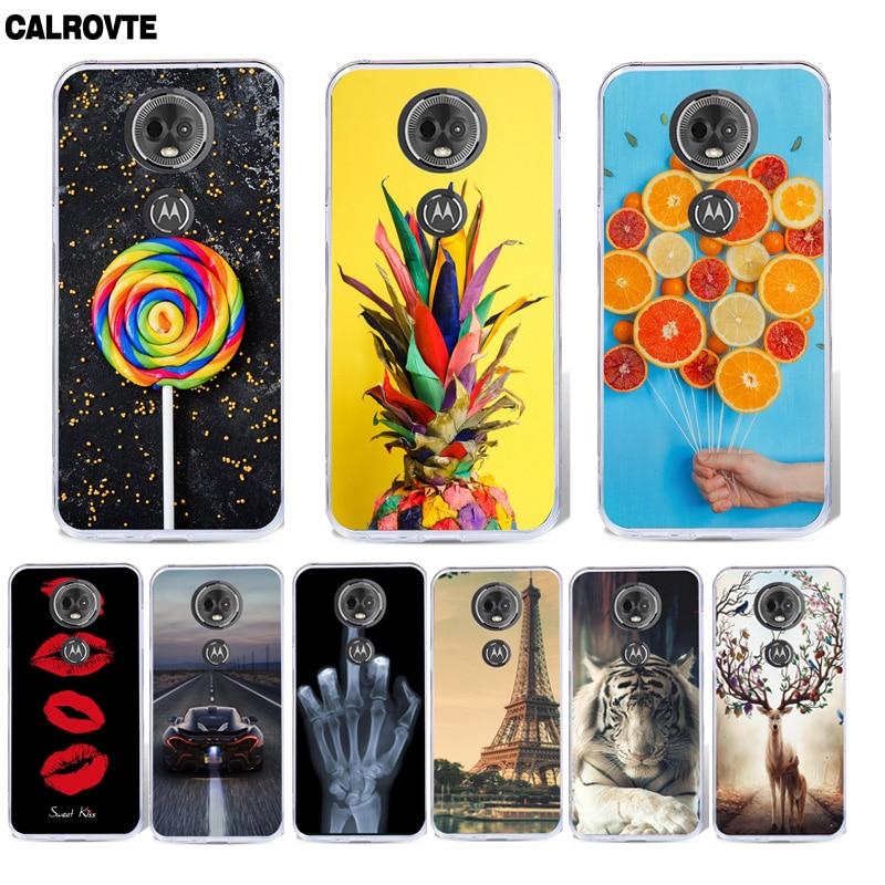 for Motorola Moto E5 / G6 Play Case Cover Silicone Coque for Motorola Moto E 5th Gen Case Tpu Capa Fundas for Moto E5 Phone Case