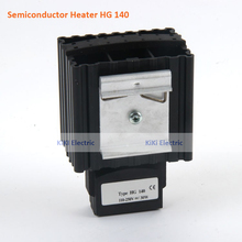 DIN Rail Mounting 30W Semiconductor Heater HG140 Cabinet PTC Heating Element,120-240VAC Moisture Trap use for electric enclosure free shipping ptc heater excellent performance semiconductor heater industrial electric heater hg140 45w