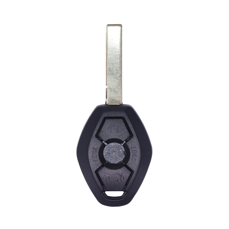 Car Accessories 3 Buttons Key Remote Fob Case Replacement Car Key Shell With HU92 Blade for