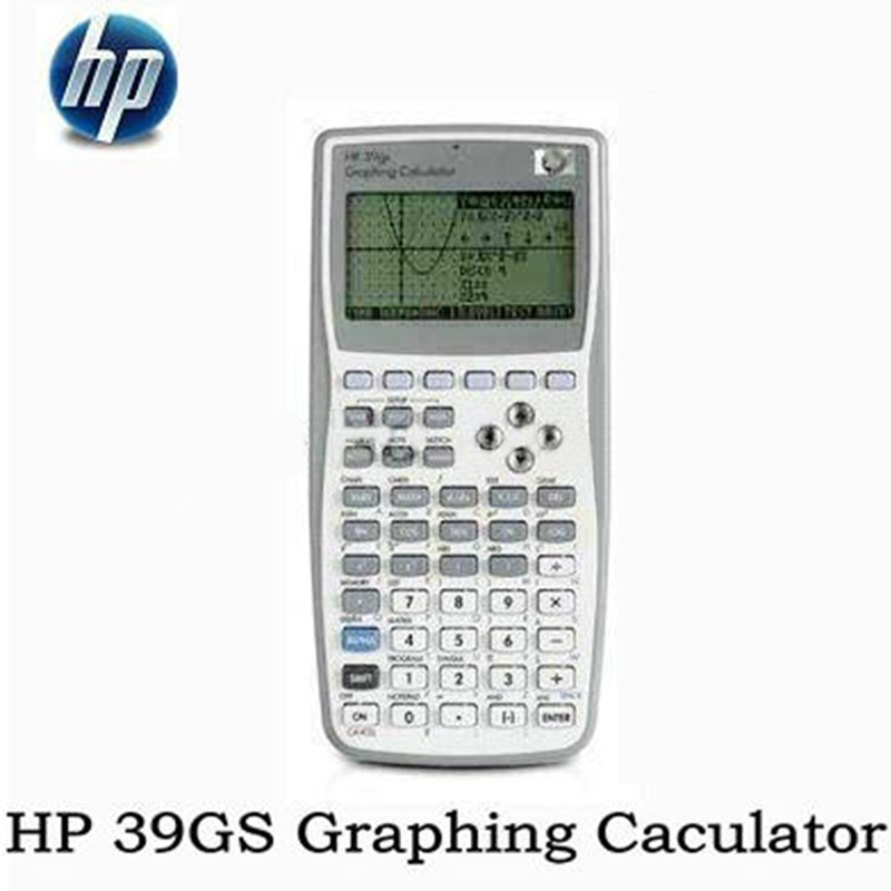 HP Handheld Calculator 99 New 39gs Student's Scientific Line Display Portable Multifunction Calculator Grafis Asli