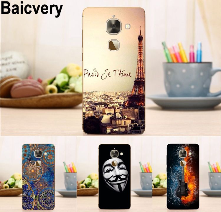 Case For Letv X626 LeEco <font><b>Le</b></font> S3 Flower Tower Pattern Fashion Gel Cover for Letv <font><b>Le</b></font> 2/2Pro x20 x25 Pro X620/X620 x520 x526 <font><b>x</b></font> <font><b>527</b></font> image