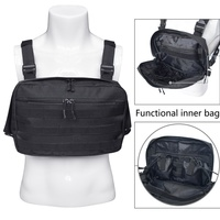 600D Oxford Hunting Bag Tactical Vest Pouch Chest Recon Tools Molle Pouch Outdoor Hunting bag 31x21x4.5cm