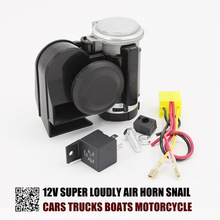 Air-Horn Boat Motorcycle Super-Loudly Snail-Compact Truck 12V for Car RV Modification-Parts