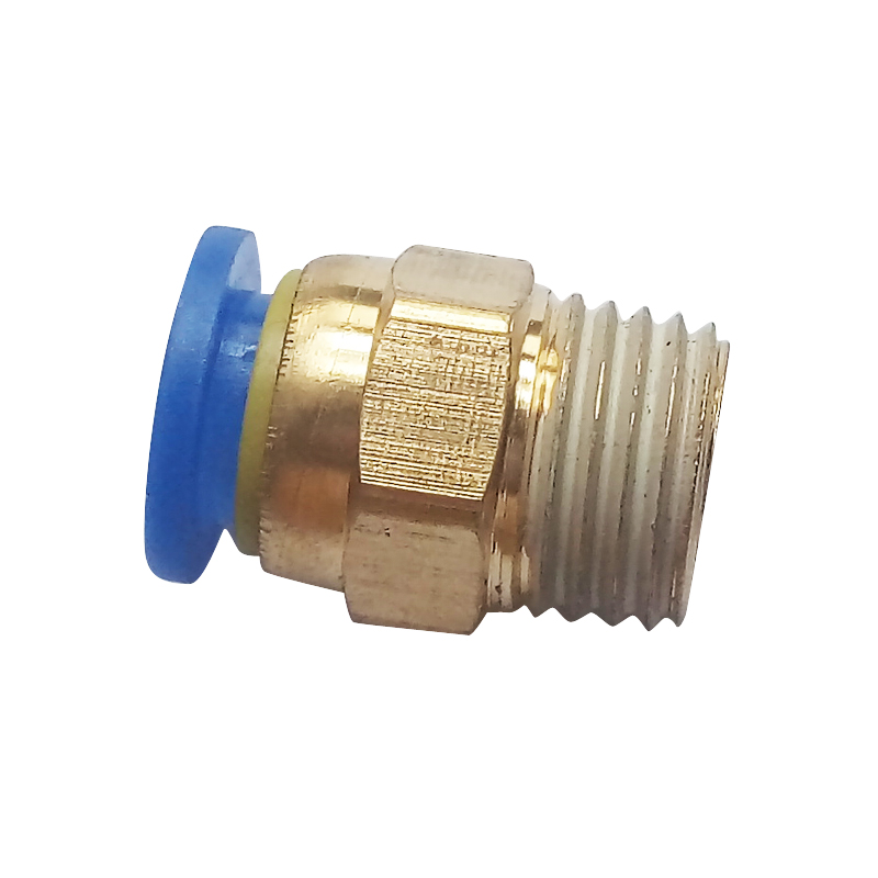 Tube OD 10 mm X 1/4 BSP Push In To Connect Fitting Male Straight Connector Pneumatic Air Fitting PC10-2 free shipping 10pcs lot pu 6 pneumatic fitting plastic pipe fitting pu6 pu8 pu4 pu10 pu12 push in quick joint connect